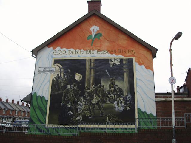 Ardoyne murals for Easter rising mural