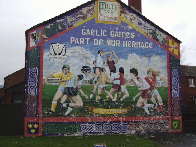 Ardoyne murals for Mural in belfast