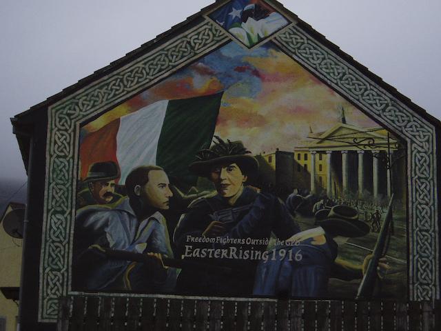 Ballymurphy murals for Easter rising mural