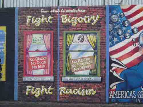 Fight bigotry - fight racism